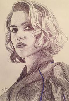 the-other-sam: Natasha Romanoff aka Black Widow. - Hey everyone - bored - Marvel Avengers Drawings, Avengers Art, Marvel Art, Marvel Comics, Natasha Romanoff, Black Widow Drawing, Pencil Drawings, Art Drawings, Horse Drawings