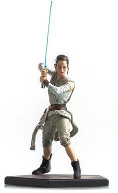 Estátua Star Wars Rey - Art Scale 1/10 - 24 cm - Iron Studios | Comic Store Brasil