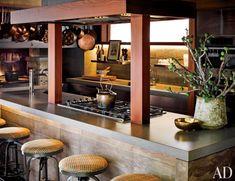 Traditional Kitchen by Ken Fulk in San Francisco, California