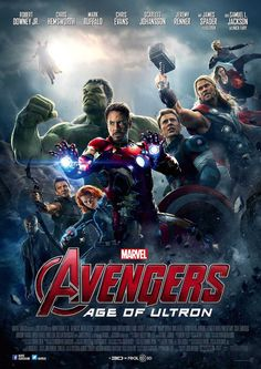 Avengers: Age of Ultron is a 2015 American superhero film based on the Marvel Comics superhero team the Avengers, produced by Marvel Studios and distributed by Walt Disney Studios Motion Pictures The Avengers, Avengers Film, Avengers Poster, Avengers 2012, Spiderman Poster, Age Of Ultron, Ultron Marvel, Marvel Cinematic Universe Movies, Films Marvel
