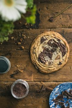 This best ever Chocolate Chip Cookie is given a unique appearance using a special baking technique that is sure to have everyone stopping in their tracks. A true American classic with a twist. #Cookie #ChocolateChip #Best
