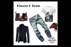 Blazer+&+Jean