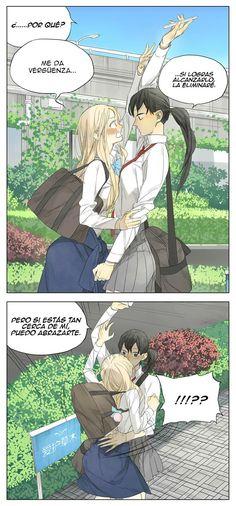 Siguiente página Echii Anime, Yuri Anime, Anime Comics, Anime Love, Manhwa, Manga Story, Lesbian Art, Comic Panels, C Cassandra