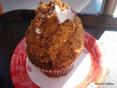 The infamous Butter Finger Cupcake
