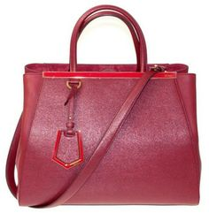 Fendi 2jour Cherry Red Tote Bag $2,360