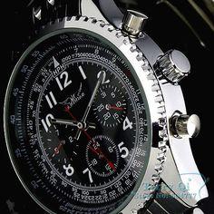 Cheap wrist watches for women, Buy Quality wrist watch sport directly from China wrist watch women Suppliers:  JARAGAR Luxury Watches Men Black Dial Tourbillion Automatic Mechanical WatchWristwatch with Gift BoxUS$ 35.80/pie