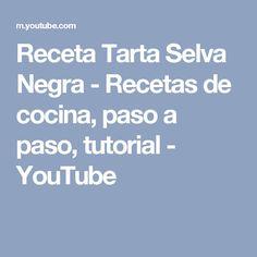 Receta Tarta Selva Negra - Recetas de cocina, paso a paso, tutorial - YouTube