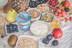 musli z jogurtem bakoma Hummus, Ethnic Recipes, Diet
