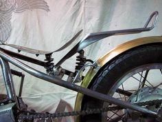 Re:Brent's Roadie Bobber - Road Star Forum - Yamaha Road Star Honda Bobber, Motos Bobber, Bobber Seat, Triumph Bobber, Bobber Bikes, Bobber Chopper, Custom Harleys, Custom Motorcycles, Custom Bikes