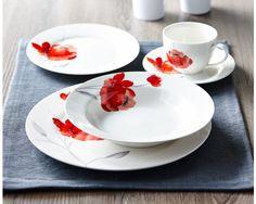 WATERCOLOR dinnerware set 20 pc (service for 4) - Dinnerware - Dining | & Berries dinnerware set 20 PC (service for 4) - Dinnerware - Dining ...