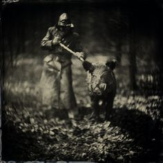 Alex Timmermans Collodion Ambrotype wet plate Photography: The making off.....
