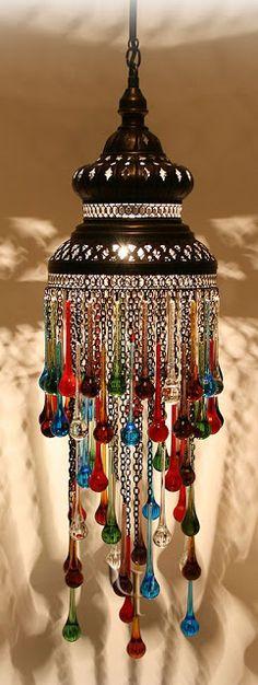 Moroccan design chandelier