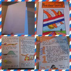 Brochure over Nederland (kan ook over een provincie of een ander land) How to make