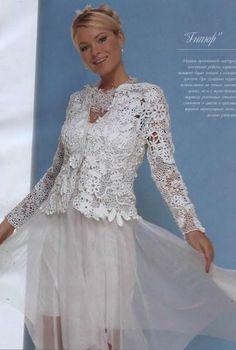 irish crochet   Outstanding Crochet: Irish Crochet. Ukrainian Crochet artist and ...