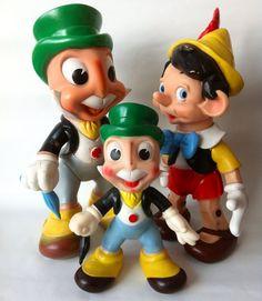 Vintage Rubber Toys, Ledraplastic