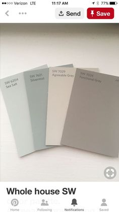 59 New ideas exterior paint schemes sherwin williams sea salt