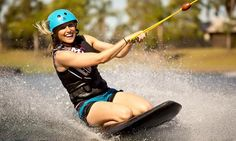 Cables Wake Park - Cables Wake Park: Wakeboarding or Kneeboarding - One ($24) or Four Hours ($34) or Full Day ($39) at Cables Wake Park (Up to $79 Value)