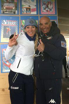 Festa della FISI in Valsenases con Daniela Ceccarelli campionessa olimpica