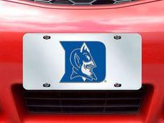 "Duke License Plate Inlaid 6""x12"""