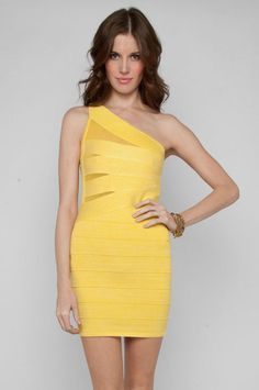 LOVE yellow and love this dress!