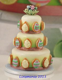 My miniature version of Lakeland's gorgeous Easter cake!