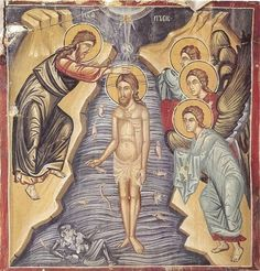 15 Hymns For the Feast of Epiphany (St. Ephraim the Syrian) Roman Church, Orthodox Christianity, John The Baptist, Orthodox Icons, Epiphany, Christian Faith, Winter Time, Catholic, Party