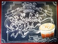 Chalk design by Carolina Ro