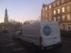 Carbon Neutral, Shop Local, Safe Place, When Us, Edinburgh, Sustainability, Bring It On, Delivery, Van
