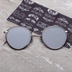 Fancy - Model 717 Black Sunglasses by Eyevan 7285