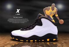 """Air Jordan 10 """"LA"""" 2012 City Series"""