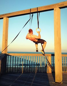 Can you think of a better place to do muscle up?