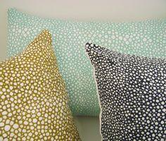 allover shagreen pillow