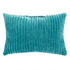 One of my favorite discoveries at ChristmasTreeShops.com: Solid Ridged Oblong Throw Pillow