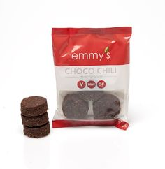 Emmy's Organics Chocolate Chili Macaroons... I have been looking every where for these! I can't find them in stores! I NEED some!!!