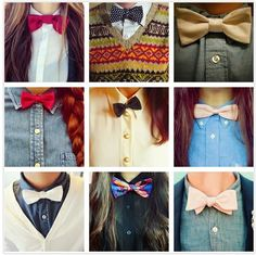 bow ties bow ties bow ties... Love them. But can I do them? hmmmm....