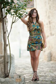 La robe en WAX ! La Minute Fashion by Mélody. ♡ SL