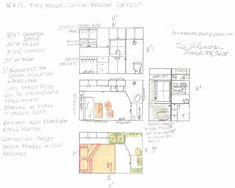Lee Ashmore's 8×12 Tiny House Design -  2015 tiny house design competition : tinyhousetalk