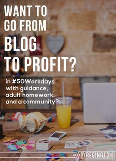 Want to go from Blog to Profit? This Program is Your Jam.