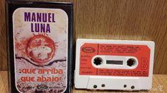 MANUEL LUNA. QUE ARRIBA, QUE ABAJO. MC / MOVIE PLAY - 1978 / LUJO - DIFÍCIL.
