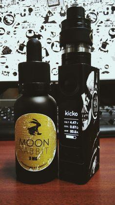 Desk Check #vaporindonesia #vapelife #evicvtcmini #serpentmini #moonrabbitliquid