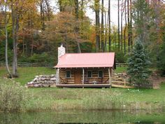 Narvon Vacation Rental - VRBO 335812 - 1 BR Dutch Country Cabin in PA, 1800's Restored Log Cabin in Woods - 15 Min. Off Pa Turnpike