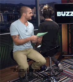 Amazing interviewing skills you got there<< Jealous of those skills