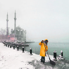 Great city of Istanbul paid tribute in comprehensive photobook Desert Dream, Winter Art, Photo Book, Winter Wonderland, Places Ive Been, Istanbul, Louvre, Poetry, Journey