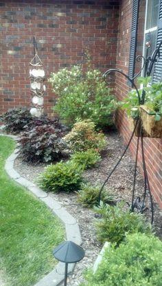 Landscaping Around House Rocks Around Foundation Of Home