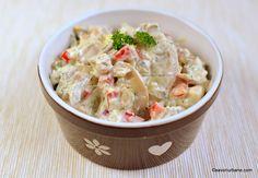 Tapas, Brocolli, Turkey Recipes, Potato Salad, Yummy Food, Meals, Chicken, Ethnic Recipes, Fitness