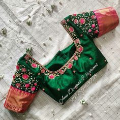 Here is the ultimate list of pattu saree blouse designs for bridal, engagement or any occassion. Just look at the pictures and pick one for yourself. Blouse Back Neck Designs, Cutwork Blouse Designs, Wedding Saree Blouse Designs, Best Blouse Designs, Pattu Saree Blouse Designs, Simple Blouse Designs, Stylish Blouse Design, Maggam Works, Latest Maggam Work Blouses