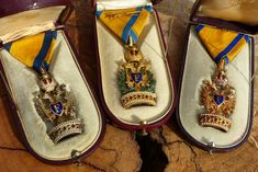 Military Orders, Chivalry, Moccasins, Awards, Jewels, Decoration, Casual, Gold, Blue
