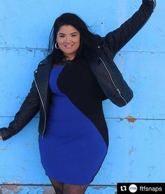3a4ebeaf0 When it s cold outside but you look like in the Rexa Color-Block Bodycon  Dress