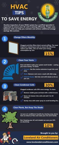 HVAC tips to save energy #comfortairzone #howtosaveenergy #hvactips #comfortairsandiego