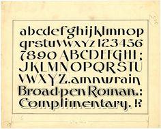 Broad-pen Roman by peacay, via Flickr
